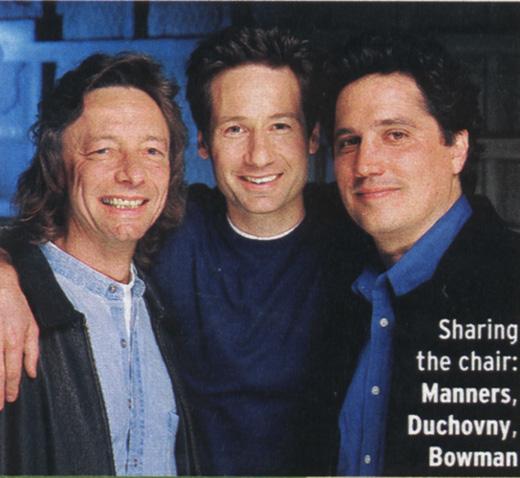 Kim Manners, David Duchovny, Rob Bowman