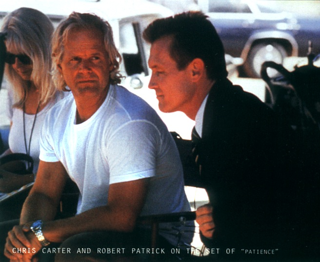 Chris Carter, Robert Patrick