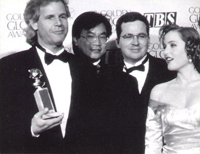 Chris Carter, James Wong, Glen Morgan, Gillian Anderson