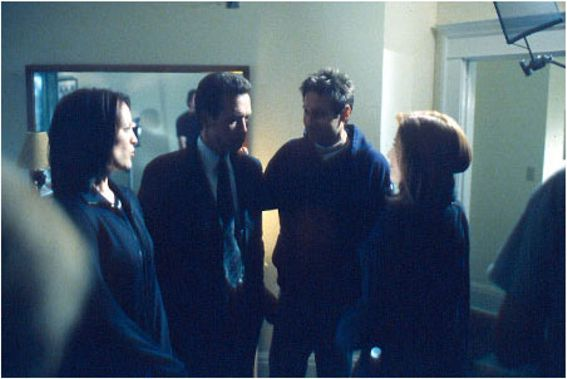 A. Gish, R. Patrick, D. Duchovny, G. Anderson